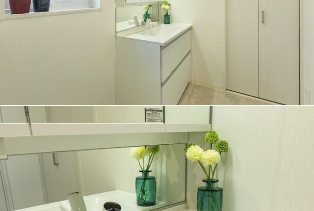 パナソニック 洗面化粧台シーライン(タッチレス水栓)